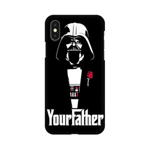 Your Father Apple iPhone X Mobile Back Case