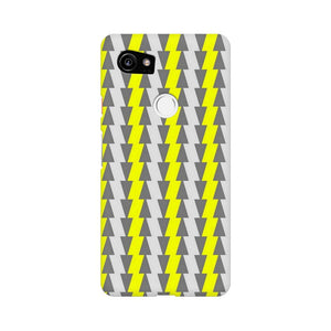 Yellow And White Cards Google Pixel XL 2 Mobile Back Case