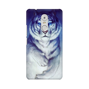 White Tiger Lenovo K6 Note  Mobile Back Case