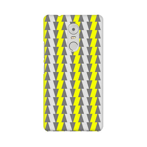 Yellow And White Cards Lenovo K6 Note  Mobile Back Case
