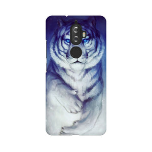 White Tiger Lenovo K8 Plus  Mobile Back Case