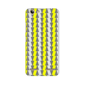 Yellow And White Cards Lenovo Vibe K5 Plus  Mobile Back Case