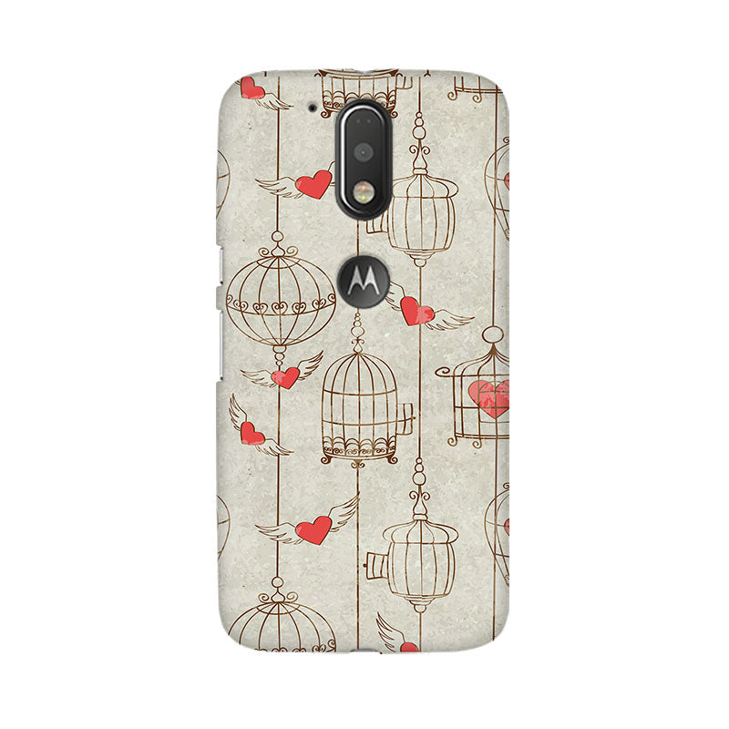 Cage Of Love Moto G4 Plus Mobile Back Case - JumboShoppers