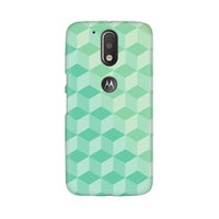 3D Cubes Moto G4 Plus Mobile Back Case - JumboShoppers