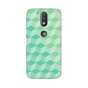 3D Cubes Moto G4 Plus Mobile Back Case