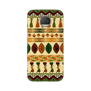 Lady With A Pot Moto G5s Plus  Mobile Back Case