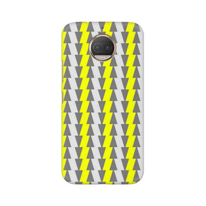 Yellow And White Cards Moto G5s Plus  Mobile Back Case