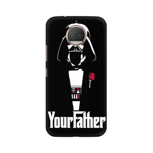 Your Father Moto G5s Plus  Mobile Back Case