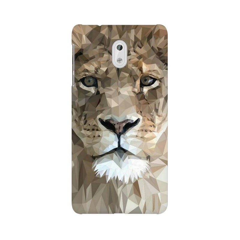 Abstract Lion Nokia 3 Mobile Back Case - JumboShoppers