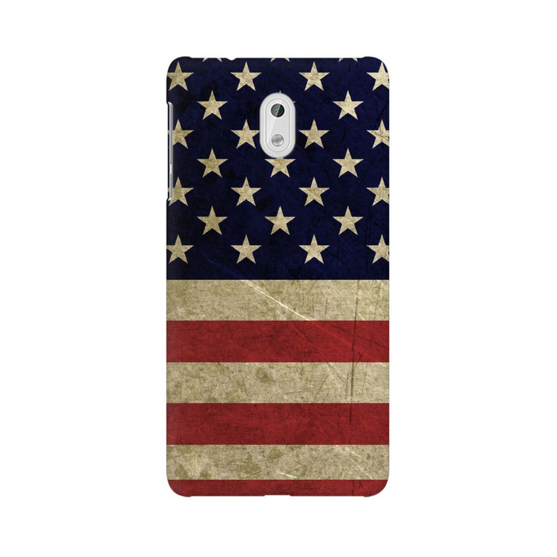 America Nokia 3 Mobile Back Case - JumboShoppers