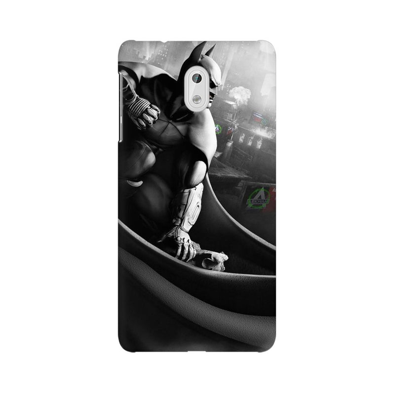 Batman Cloak City Fist Nokia 3 Mobile Back Case - JumboShoppers