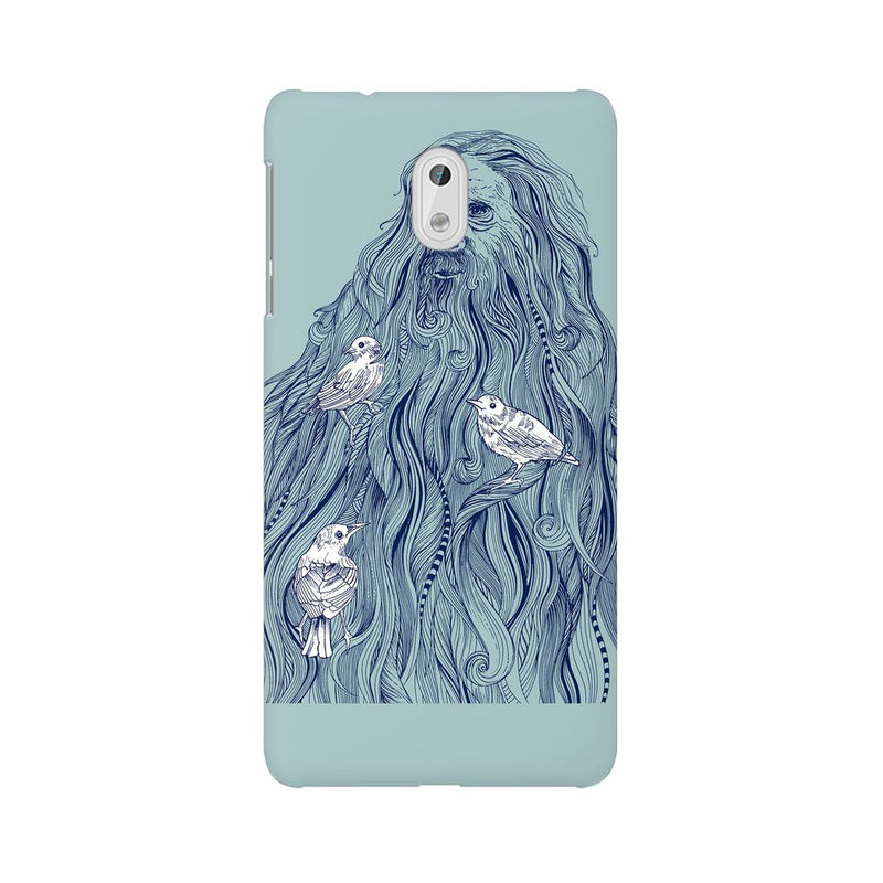 Beards Nest Nokia 3 Mobile Back Case - JumboShoppers