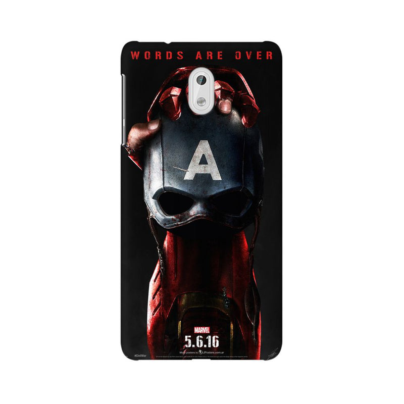 Captain Vs Ironman Nokia 3 Mobile Back Case - JumboShoppers