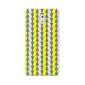 Yellow And White Cards Nokia 3 Mobile Back Case