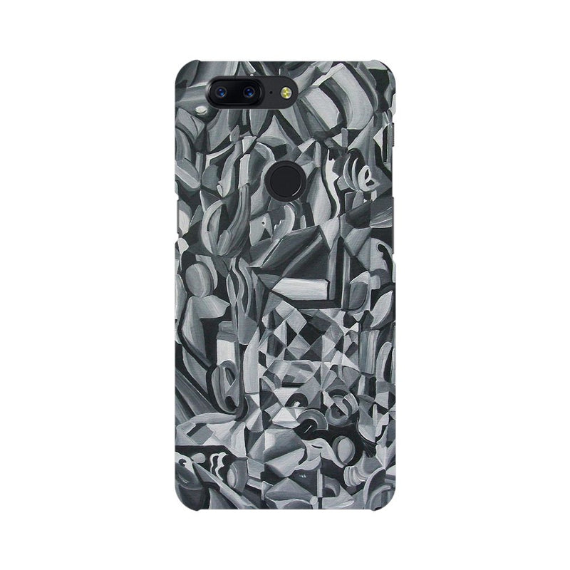 Abstract Texture OnePlus 5T Mobile Back Case - JumboShoppers