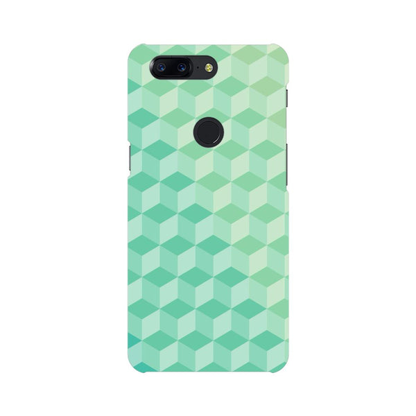 3D Cubes OnePlus 5T Mobile Back Case - JumboShoppers