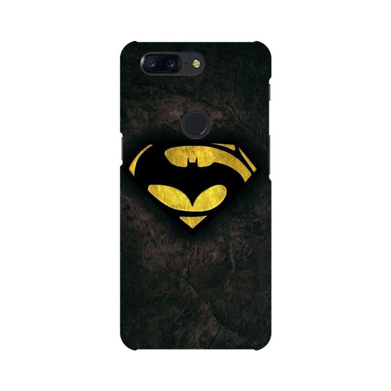 Batman Vs Superman Dawn Of Justice OnePlus 5T Mobile Back Case - JumboShoppers