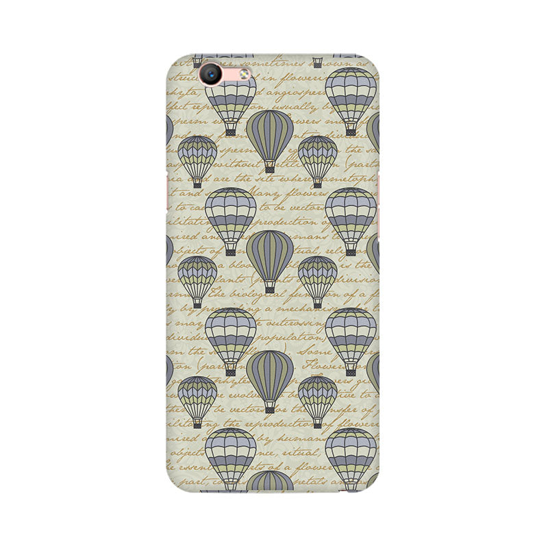 Balloon Scripture Oppo F1s Mobile Back Case - JumboShoppers