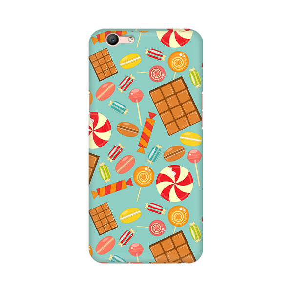 Chocolate And Candy Oppo F1s Mobile Back Case - JumboShoppers