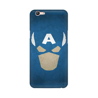 Captain America The Great Defender Oppo F1s Mobile Back Case - JumboShoppers