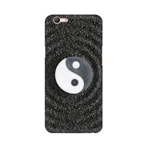 Yin And Yang Stones Oppo F1s Mobile Back Case