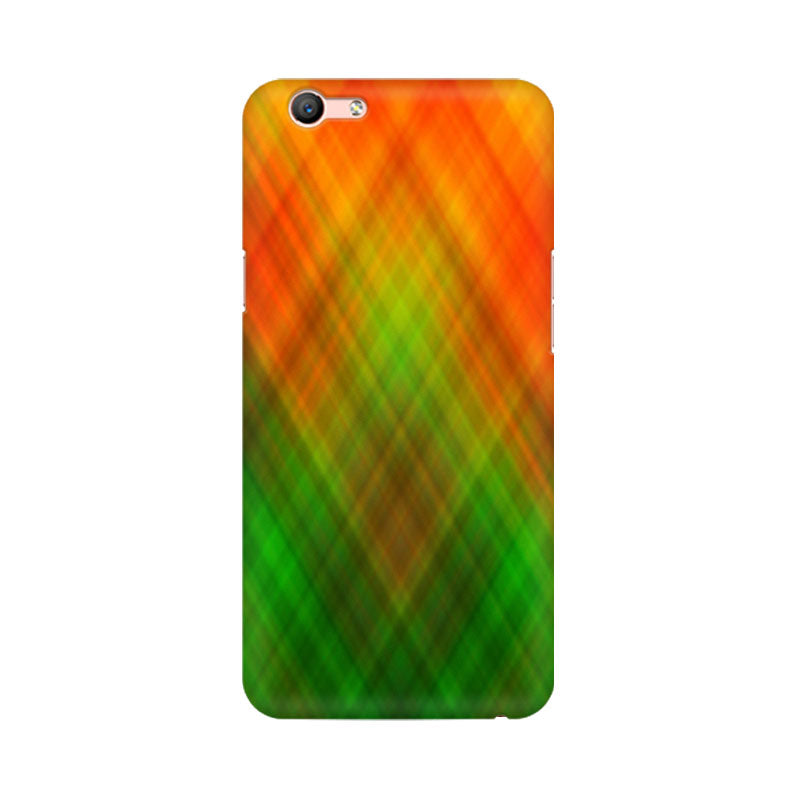 Abstract Rainbow Fusion Oppo F1s Mobile Back Case - JumboShoppers