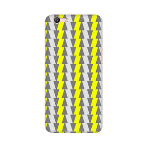 Yellow And White Cards Oppo F1s Mobile Back Case