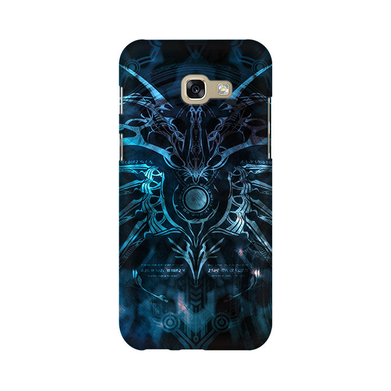 Abstract Pattern Samsung A7 2017 Mobile Back Case - JumboShoppers