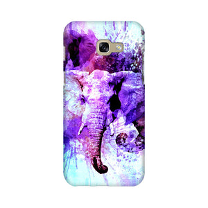Watercolor Elephant Samsung A7 2017 Mobile Back Case