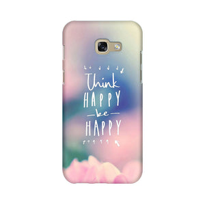 Be Happy Samsung A7 2017 Mobile Back Case