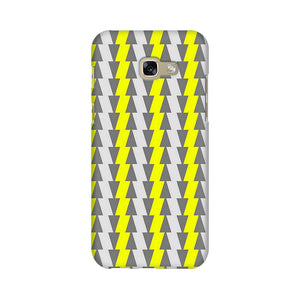 Yellow And White Cards Samsung A7 2017 Mobile Back Case