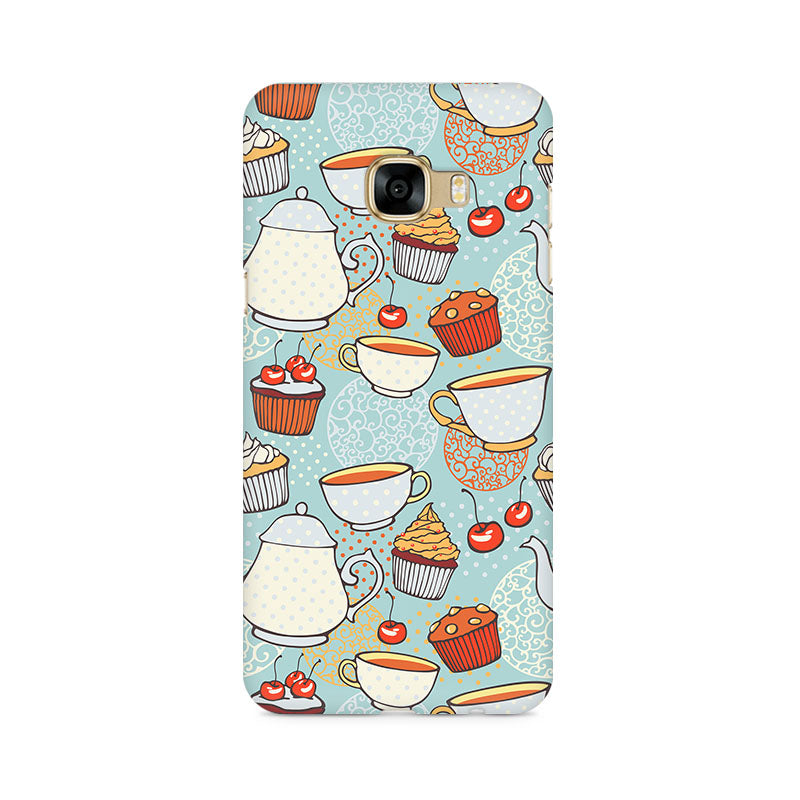Cakes And Tea Samsung C5 Pro Mobile Back Case - JumboShoppers