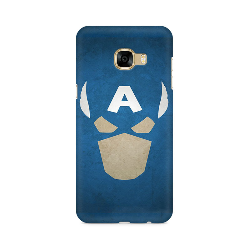 Captain America The Great Defender Samsung C5 Pro Mobile Back Case - JumboShoppers