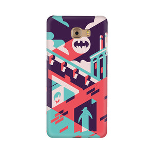 Where Is Batman Samsung C9 Pro Mobile Back Case
