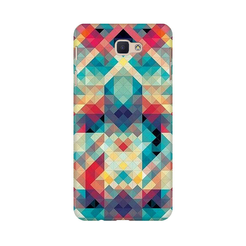 Abstract Criss Cross Samsung Galaxy J7 Prime Mobile Back Case - JumboShoppers