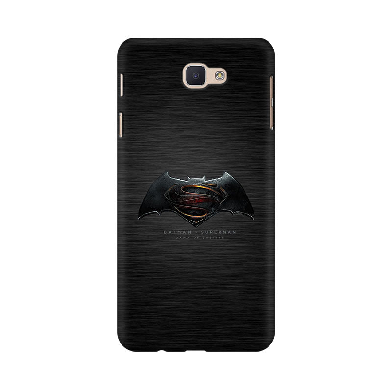 Batman Vs Superman Logo Samsung Galaxy J7 Prime Mobile Back Case - JumboShoppers