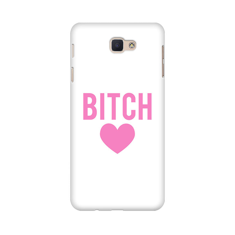 Bitch Love Samsung Galaxy J7 Prime Mobile Back Case - JumboShoppers