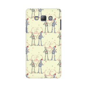 Robots With A Heart Samsung Galaxy On 5 Mobile Back Case