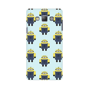 Minion Love Samsung Galaxy On 5 Mobile Back Case