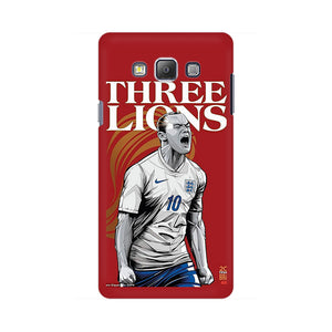 The Three Lions Samsung Galaxy On 5 Mobile Back Case
