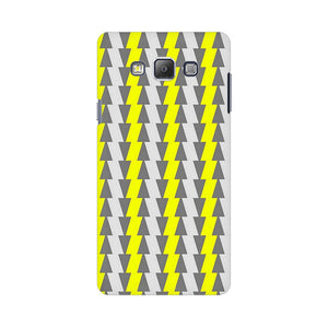 Yellow And White Cards Samsung Galaxy On 5 Mobile Back Case
