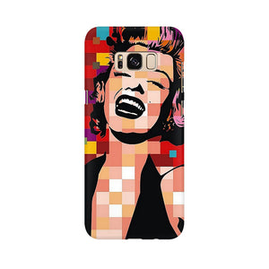 Retro Monroe Samsung Galaxy S8 Mobile Back Case