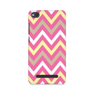 Yellow And Pink Broad Chevron Xiaomi Redmi 4A Mobile Back Case