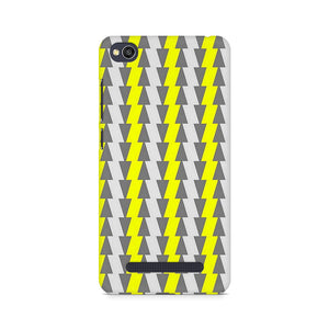 Yellow And White Cards Xiaomi Redmi 4A Mobile Back Case