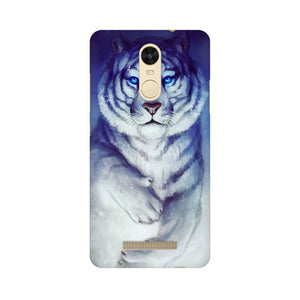 White Tiger Xiaomi Redmi Note 3  Mobile Back Case