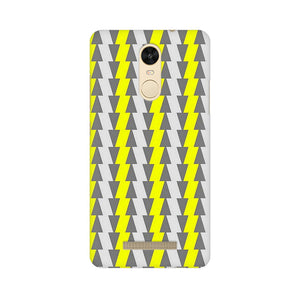 Yellow And White Cards Xiaomi Redmi Note 3  Mobile Back Case