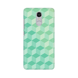 3D Cubes Xiaomi Redmi Note 4 Mobile Back Case - JumboShoppers