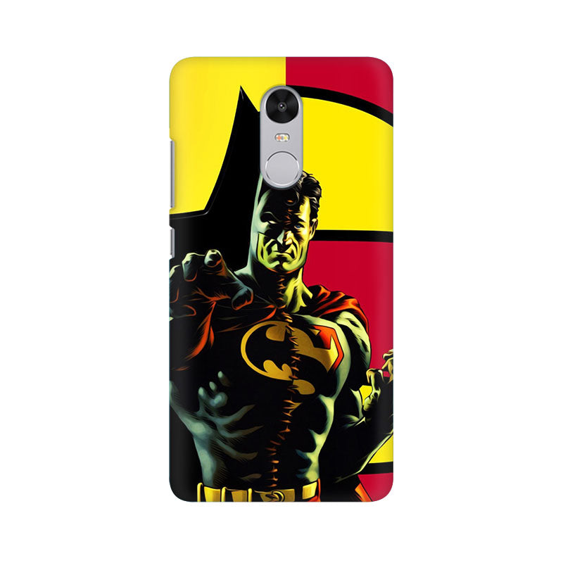 Batman Within Superman Xiaomi Redmi Note 4 Mobile Back Case - JumboShoppers