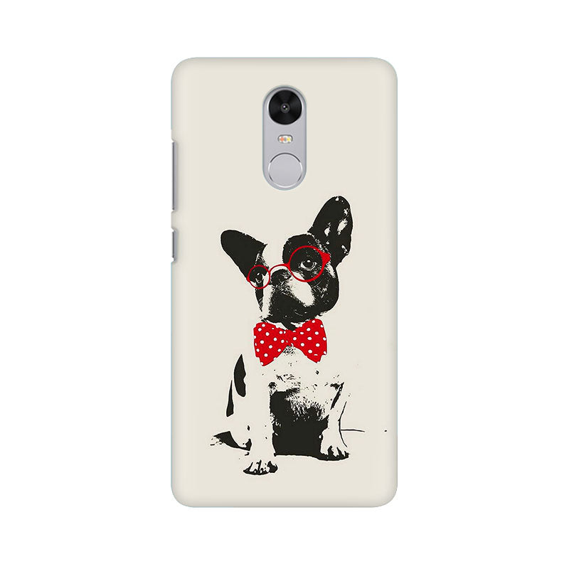Bowtie Pup Xiaomi Redmi Note 4 Mobile Back Case - JumboShoppers