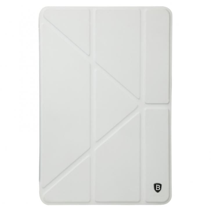 Baseus Pasen Series Smart Leather for iPad Mini 3/2/1 Stand Case Cover - White - JumboShoppers